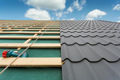 Metal Roofing installation in San Antonio